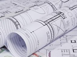הדפסת שרטוטים, גרמושקות, הדמיות ותכניות בניין